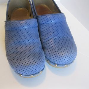 Dansko Shoes - Dansko blue dot Clogs - Size 39